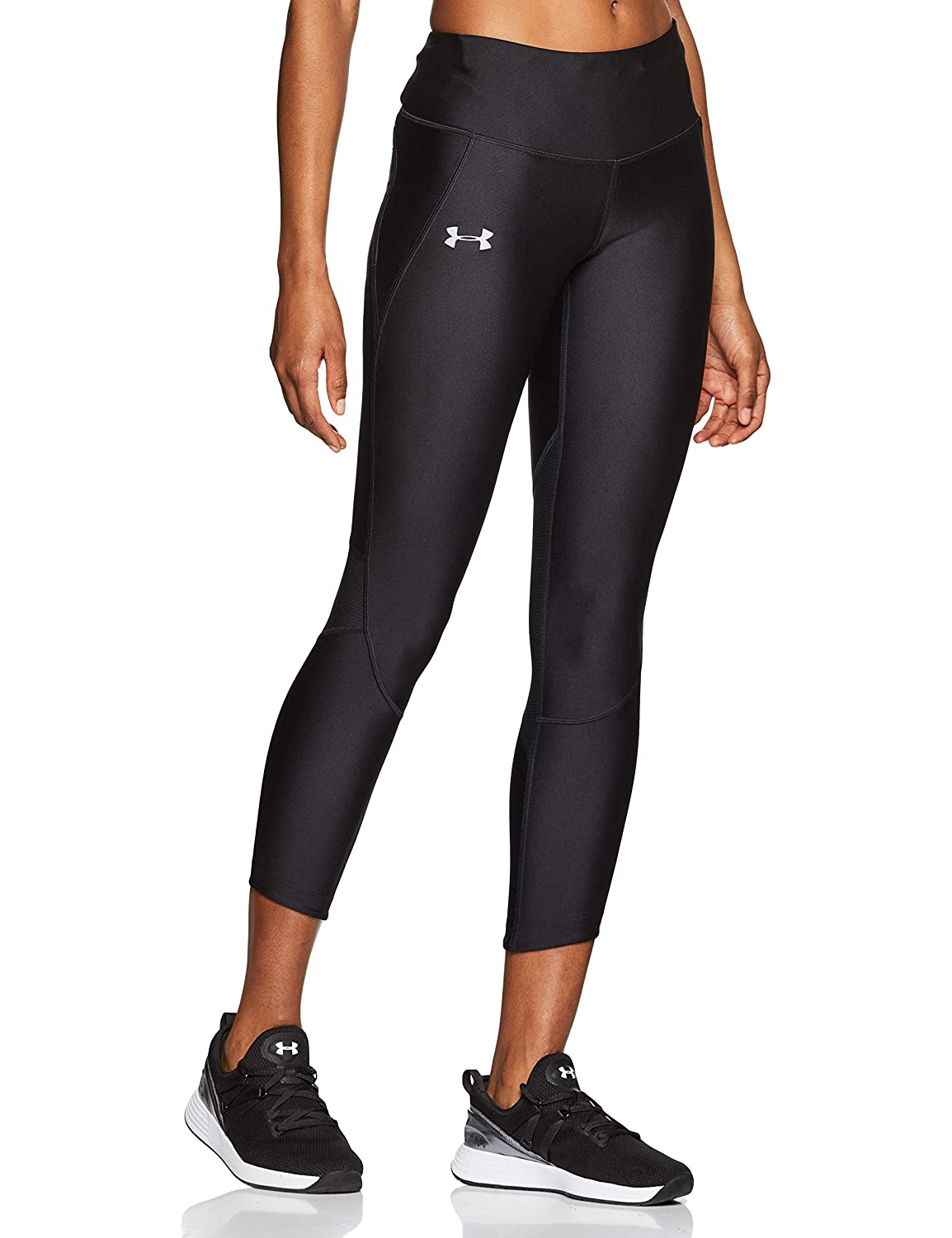 TALLA S. Under Armour Armour Fly Fast Crop Leggings Capri, Mujer