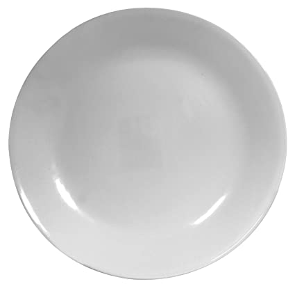 Amazon.com | Corelle 6003893 Winter Frost White 10.25 Inch Plate ...