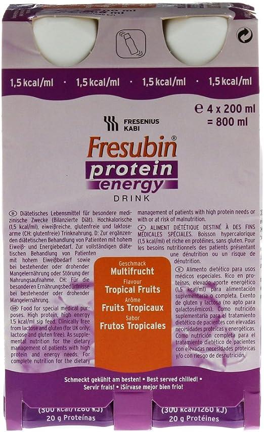 Fresubin MULTI PROTEÍNA bebida de frutas - 6X4X200 ml ...