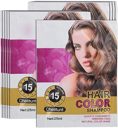 Champú temporal para el color del cabello, champú profesional ...