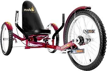 Mobo Triton Pro Three Wheel Recumbent Bike