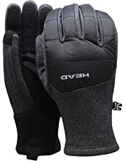 Head Mens Hybrid Glove (M Gray)
