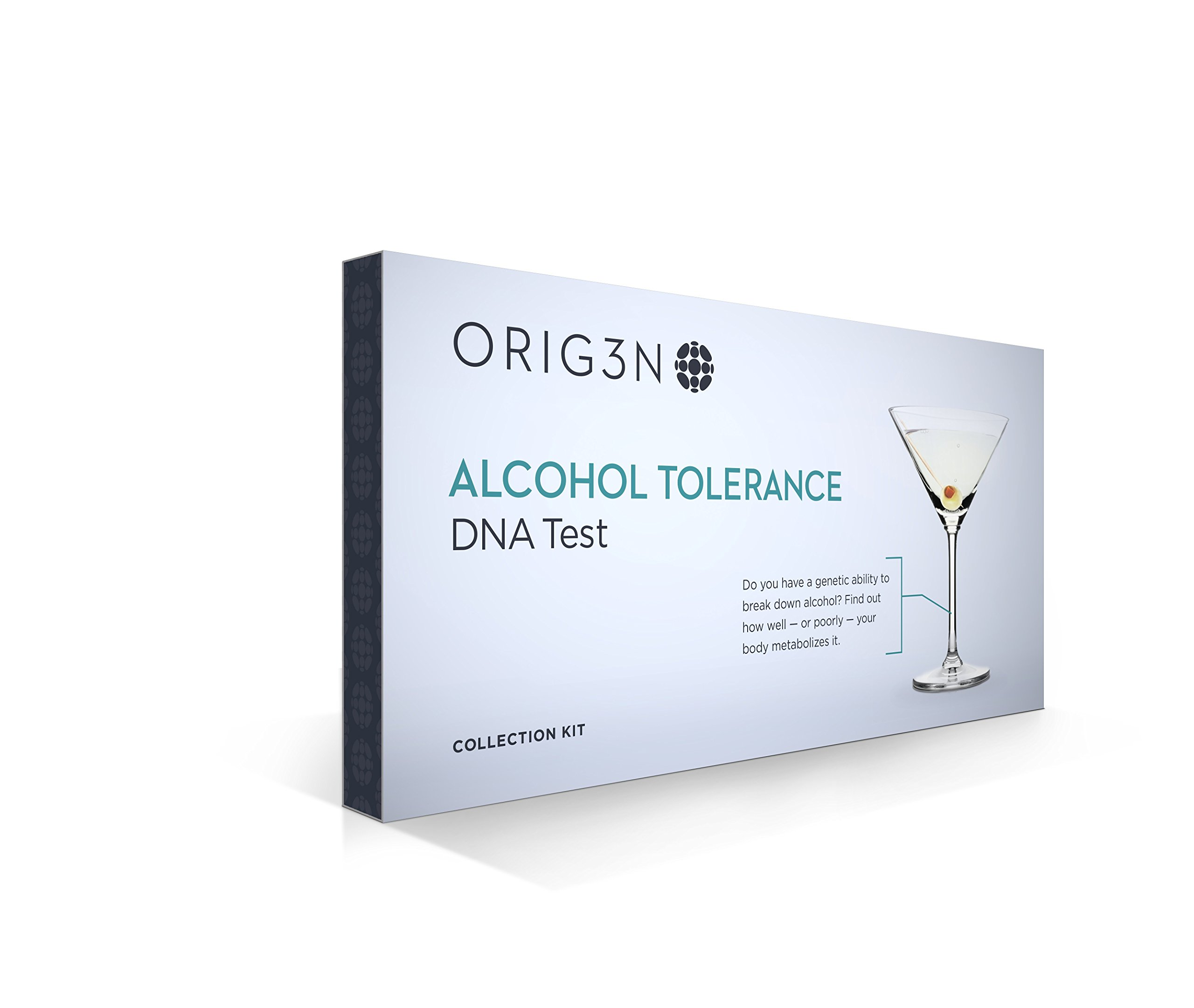 ORIG3N Genetic Home Mini DNA Test Kit, Alcohol Tolerance