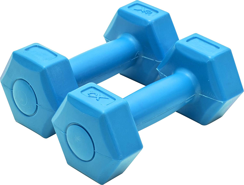 1 kg, 2 Unidades XQ Max Color Azul Mancuerna
