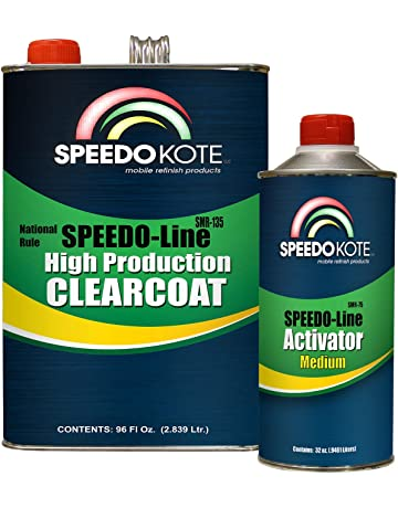 Speedokote SMR-135/75 - Automotive Clear Coat Very Fast Dry 2K Urethane,
