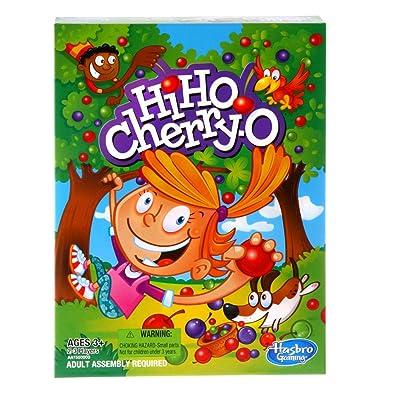 Hasbro Hi Ho Cherry-O: Toys & Games