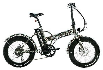 "Bicicleta Eléctrica 20"" Motor: 500W-48V Velocidad Máxima"