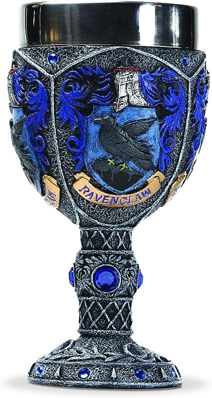 18 x 16 x 15 cm Multicolore Wizarding World Of Harry Potter Ravenclow Bicchiere Decorativo Metallo