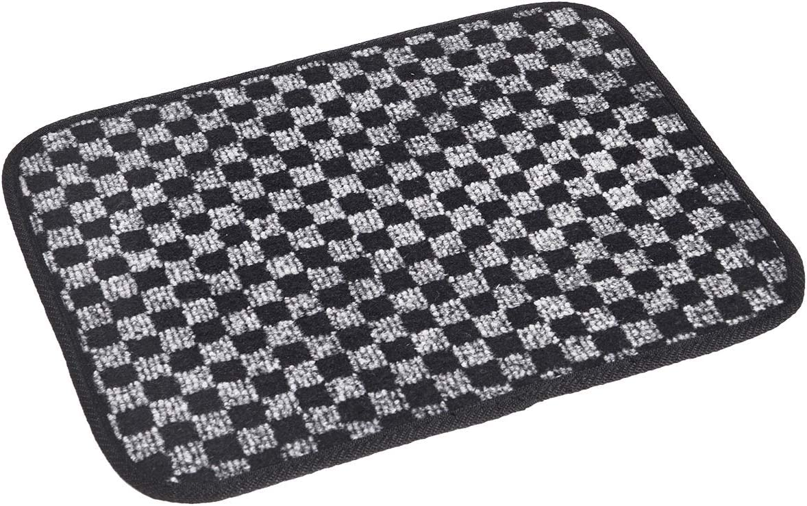CFMBX1CD7167 Nylon Carpet Coverking Custom Fit Front and Rear Floor Mats for Select Cadillac DTS Models Black