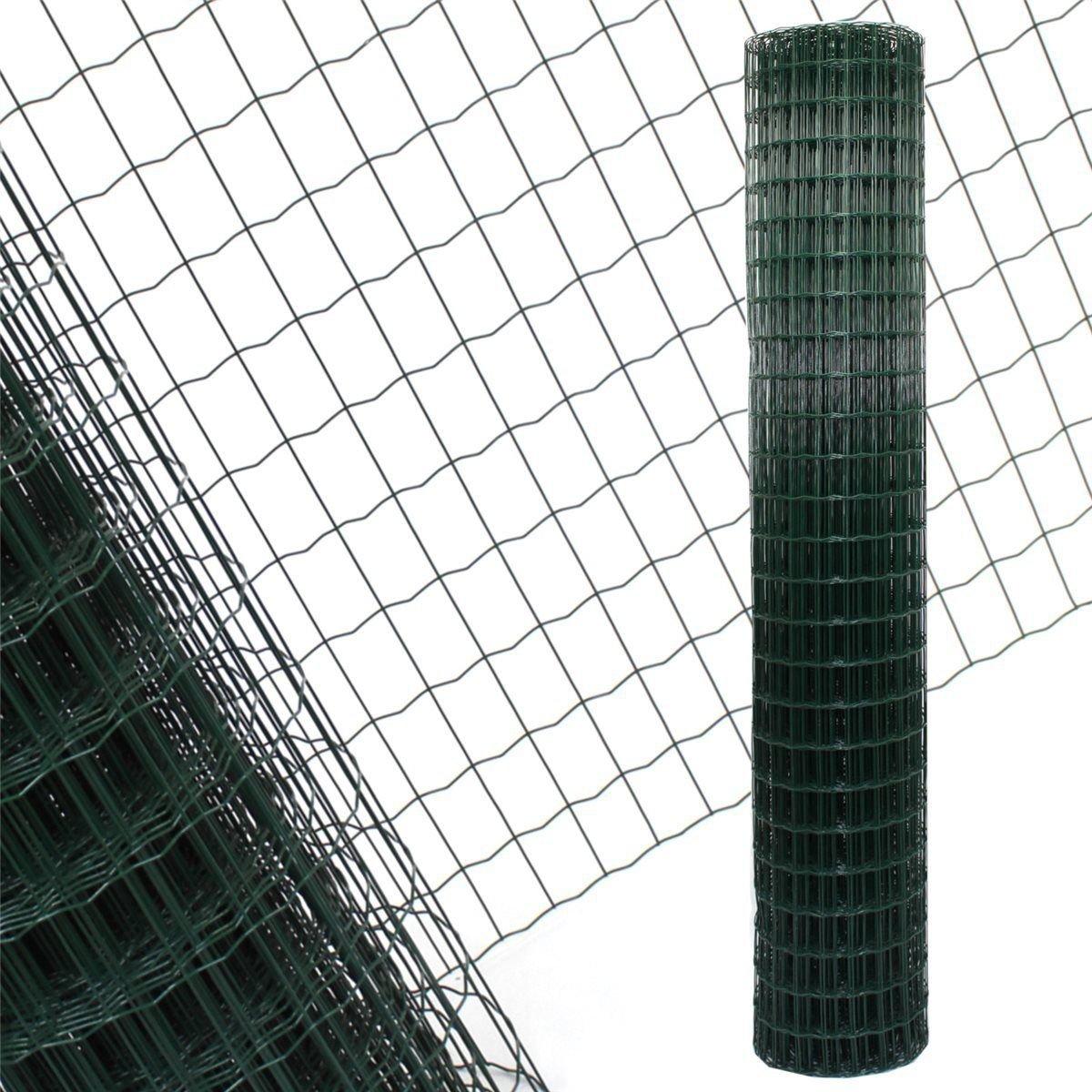 Gartenzaun Grün - 10m Länge x 2 m Höhe + kostenloser Versand ...