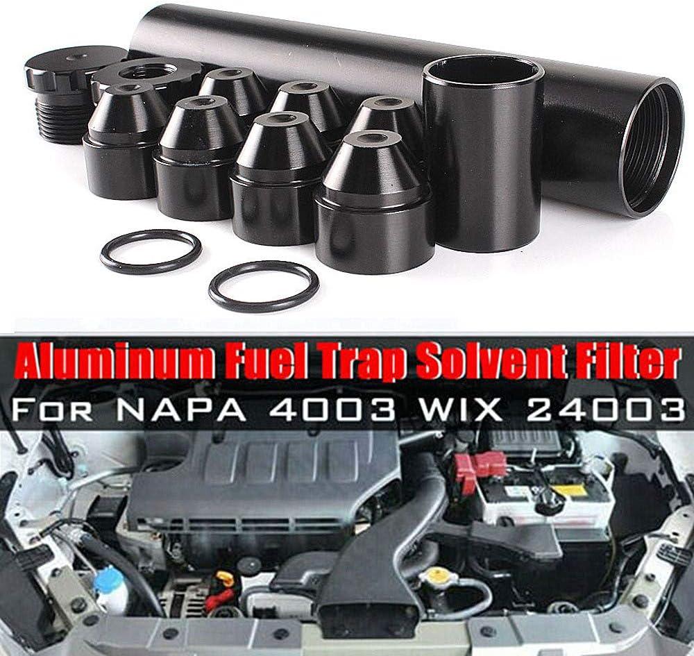 Saturey Aluminium Auto Kraftstofffilter Kraftstoff Trap 1 Mai 2 28 8 24 Automotive Fuel Filter Für Napa 4003 Wix 24003 Car Kraftstofffilter Sport Freizeit