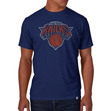 47 Brand Scrum Slim – Camiseta Nba New York Knicks Azul, hombre, azul cobalto