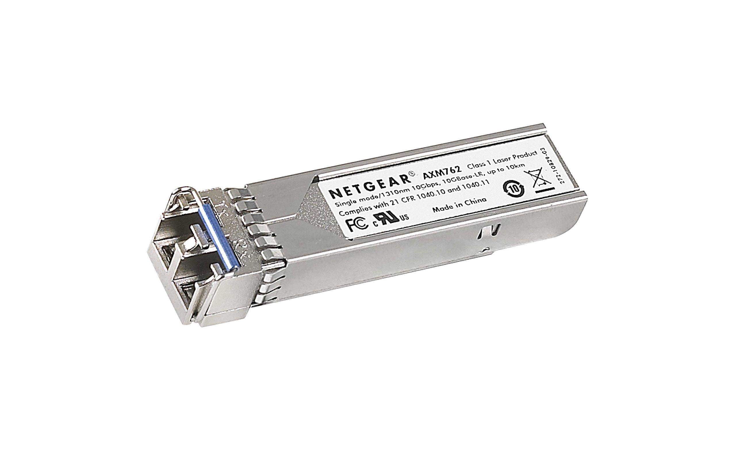NETGEAR ProSAFE 10GBASE-LR SFP+ LC GBIC (AXM762-10000S) by NETGEAR