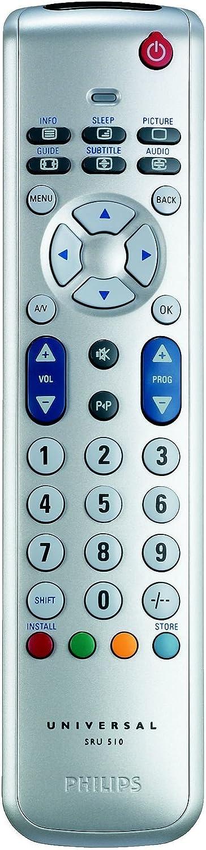 Philips - Mando a Distancia (TV, Botones, Blanco): Amazon.es: Electrónica
