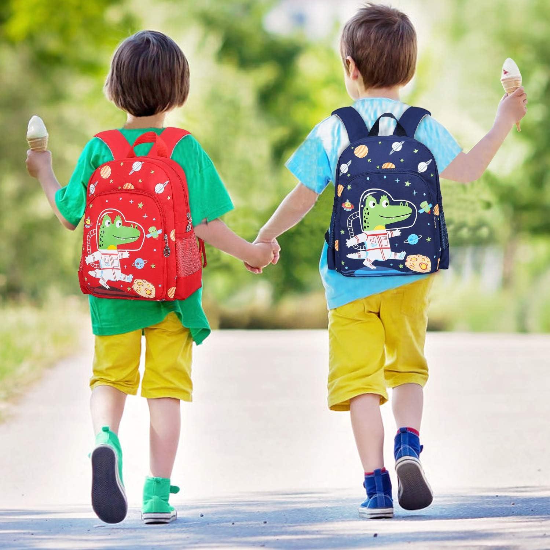 Mochilas Infantiles Mochila para Ni/ños para Ni/ños de 2-5 A/ños Infantil para Ni/ños Primaria Peque/ña Guarder/ía Mochila Preescolar Dinosaurios Mochila,Azul