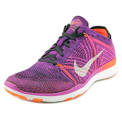 Nike Free TR Flyknit Hyper Violet Womens Running Training Shoes Size 9.5