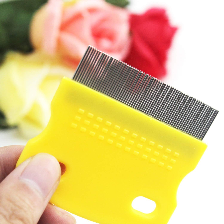 FairytaleMM Pet Removal Flea Comb Beauty Tools Lice comb-random