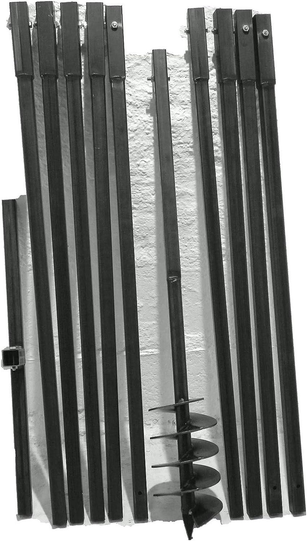 Erdbohrer oder Brunnenbohrer 10 Meter
