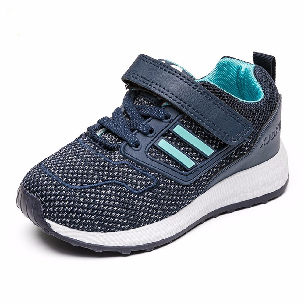 Little/Big Boys Girls Running Shoes Wearable Non-Slip Breathable Sneakers Blue