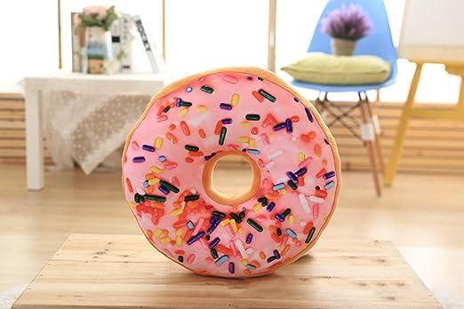 Novelty 3d Donut con forma de corto de peluche manta ...