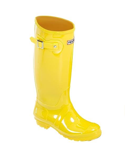 Unbekannt Stiefel Festival, Damen Stiefel Unbekannt & Stiefeletten Gelb Gelb, Gelb ... 60bf7f