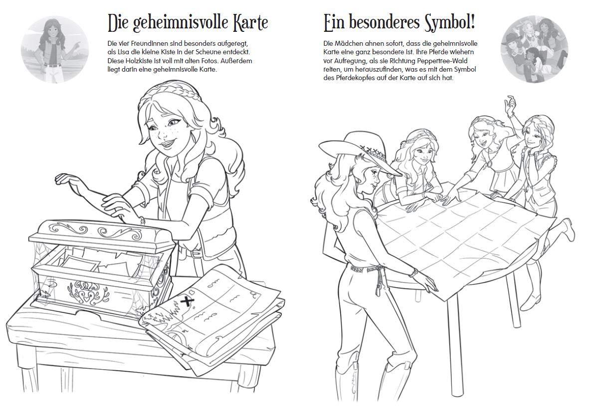 Schleich Horse Club Sticker-Malspaß : Amazon.de: Bücher