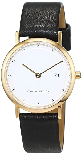 Danish Design Damen-Armbanduhr IV10Q272 Analog Quarz Leder IV10Q272