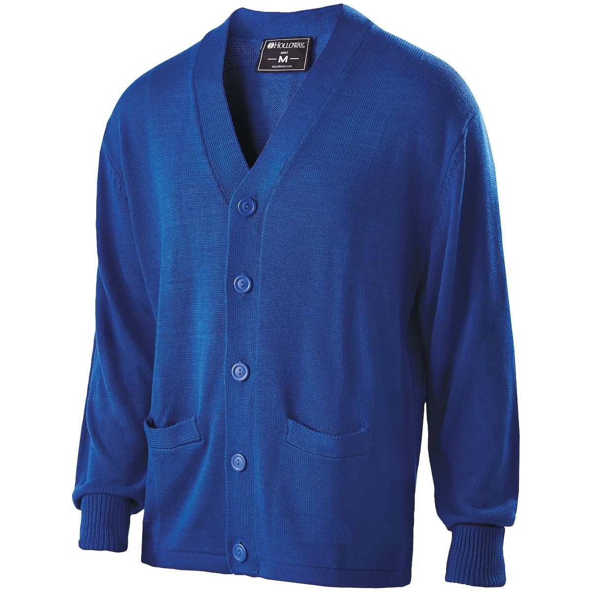 Holloway Sportswear LETTERMAN SWEATER Men's XS Royal