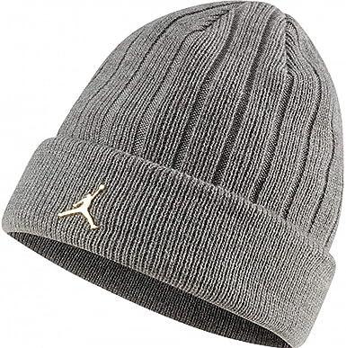 Nike Gorro Jordan Beanie Gris CI3912-091: Amazon.es: Ropa y accesorios