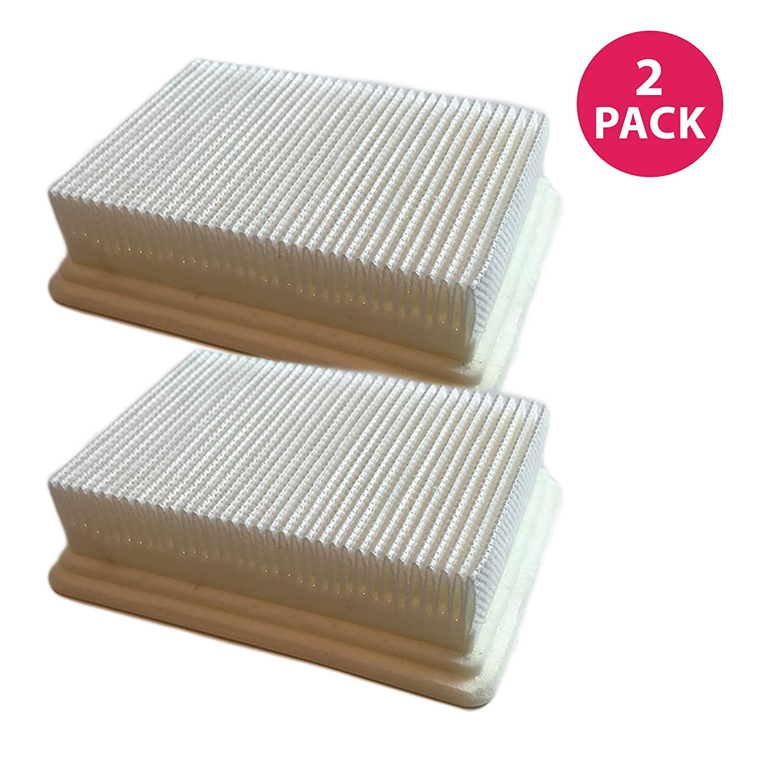 "Crucial Vacuum Filter Replacement Parts # 40112050, 59177051 - Compatible with Hoover Filters - Fits Hoover Floormate Filter HEPA-Style for Home, Office Use - Measures 4.4"" X 3.6"" X 1.1"" (2 Pack)"