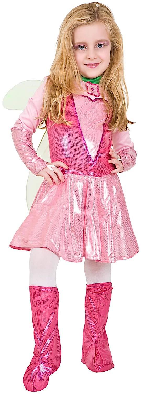 Costume di Carnevale da Fatina Vestito per Ragazza Bambina 7-10 Anni Travestimento Veneziano Halloween Cosplay Festa Party 4651 Taglia 8 M