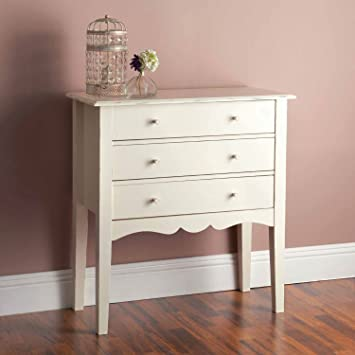 Table De Chevet De Style Shabby Chic Commode Ou Table De Chevet