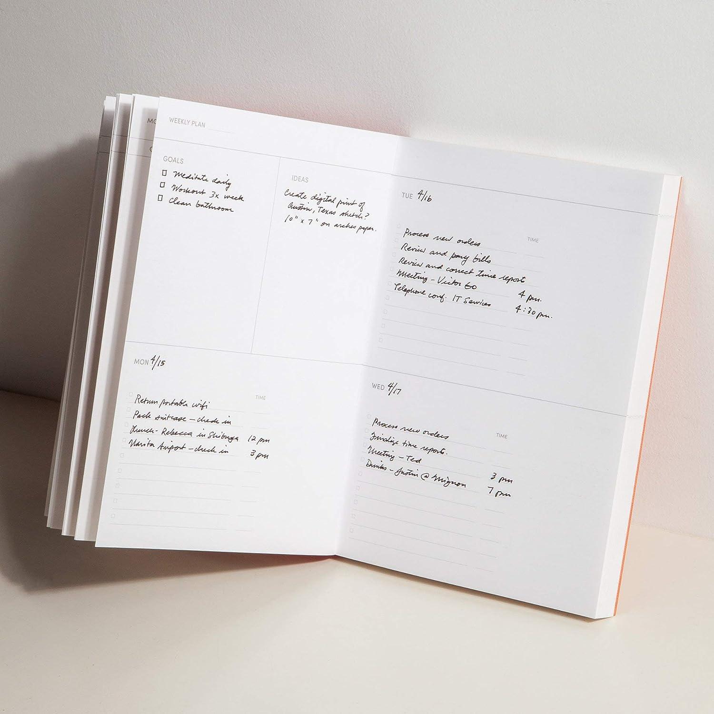 Concept Planner Notebook Midnight Gray