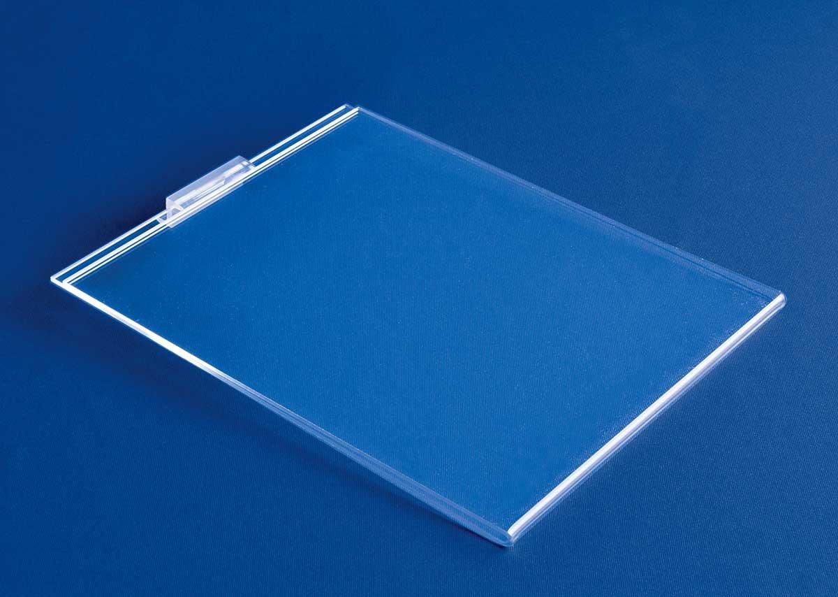 Slatwall Poster Frames | Clear Poster Frames | Large Sign Frames | Sign Holders for Slatwall