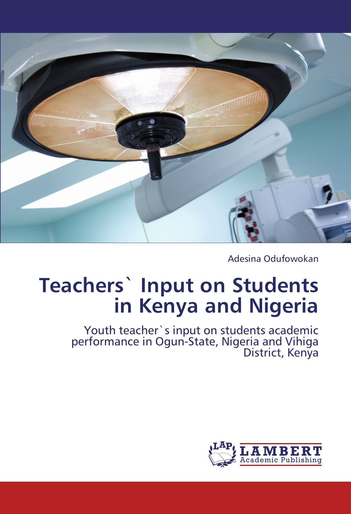 Teachers` Input on Students in Kenya and Nigeria: Youth teacher`s input on students academic performance in Ogun-State, Nigeria and Vihiga District, Kenya ebook