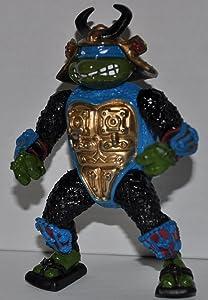 Vintage Leo the Sewer Samurai Leonardo (1990) Action Figure - Playmates - TMNT - Teenage Mutant Ninja Turtles Collectible Figure - Out of Package (OOP)