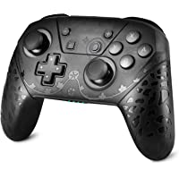 Pro Controller Compatible with Switch/Switch Lite, Wireless Motion Remote Pro Controller Gamepad Joystick with NFC, Wake…