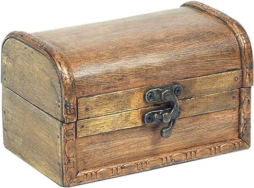 Vidal Regalos Caja Rectangular Madera 14 cm: Amazon.es: Hogar