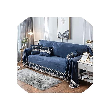 Tela del cordón de la decoración de estilo europeo sofá ...