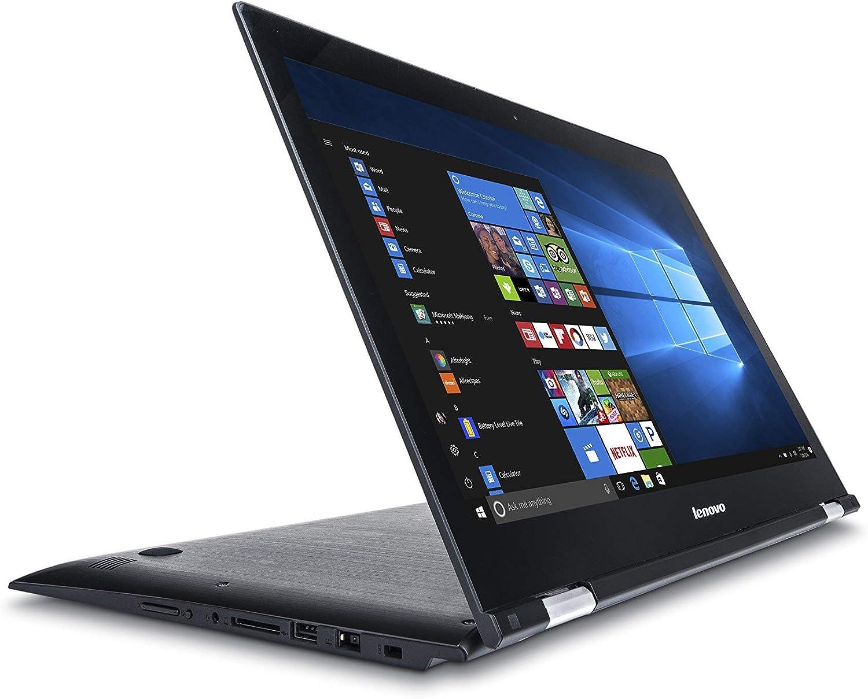 "Lenovo Edge 2 1580 15.6"" Full HD IPS 2-in-1 Touchscreen Notebook Computer, Intel Core i7-6500U 2.5GHz, 8GB RAM, 1TB HDD, Windows 10 Home (Renewed)"