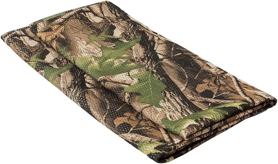 LOOGU Toile de Jute Filet de Camouflage Militaire Cache de Chasse Tissu Maille 150/cm de large
