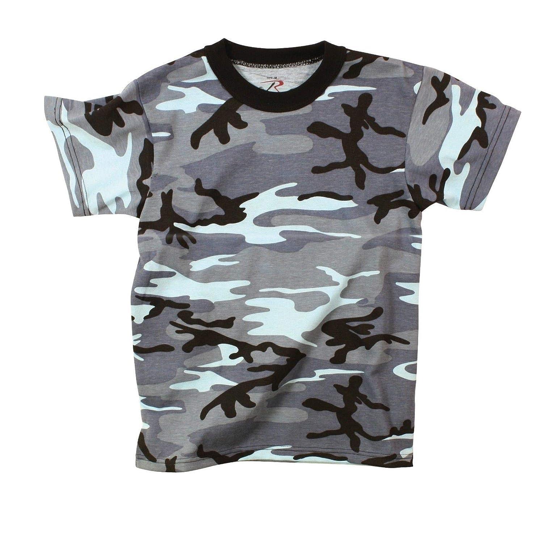 CAO outdoor product Kids Short Sleeve T-Shirt Military Camouflage t Shirt camo KWDGG