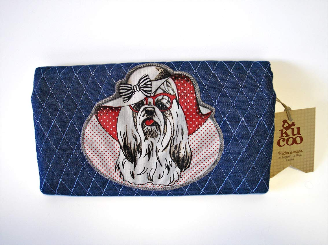 Cartera Monedero Shih Tzu: Amazon.es: Handmade