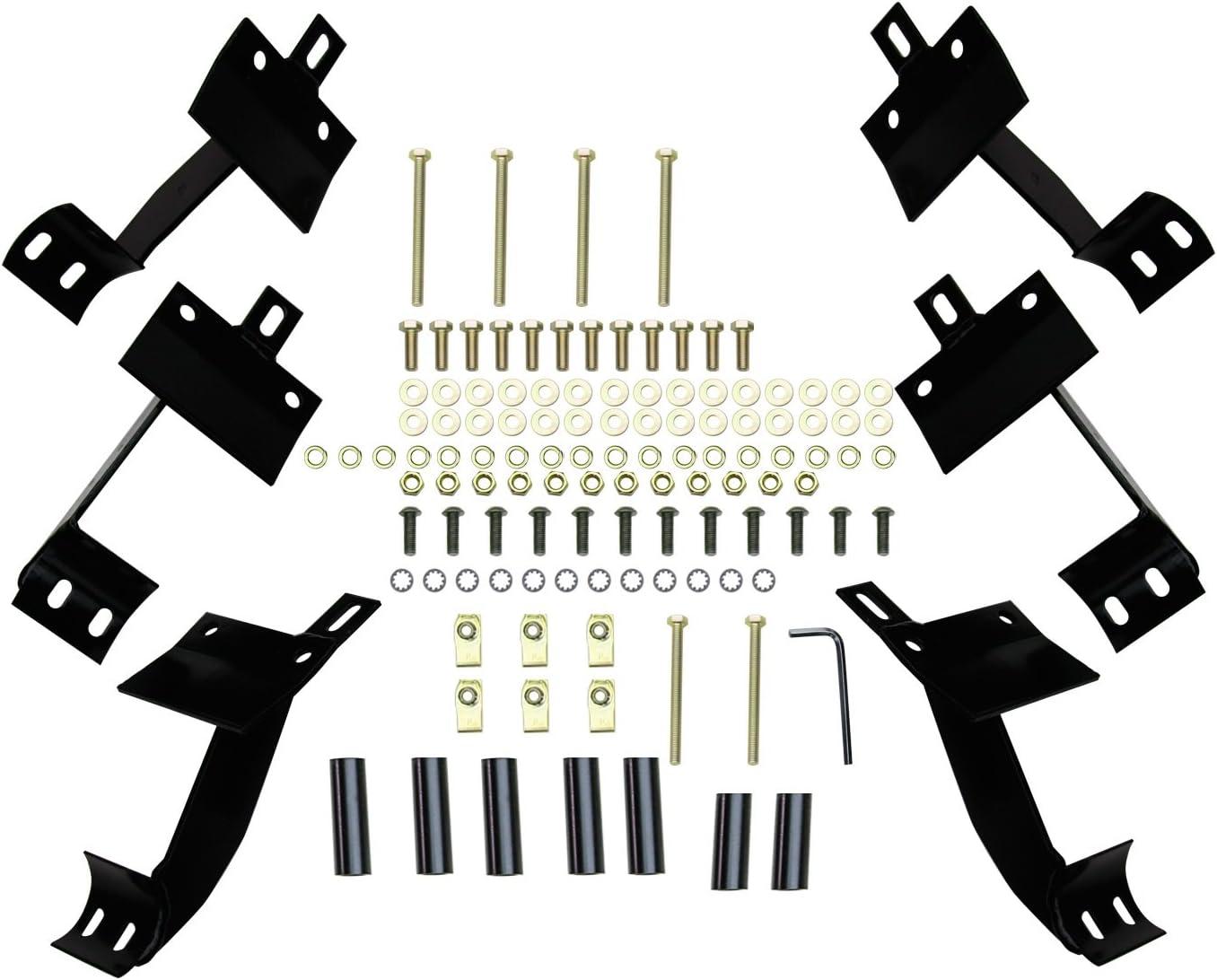 Westin 23-3045 E-Series Black Step Bar
