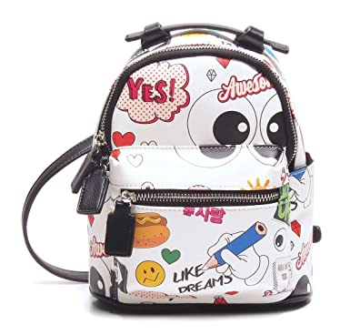 29a63e162bf BG-712-JF09 Mini Backpack Purse Festival Rave Cute Daypack Bag - Cartoon (