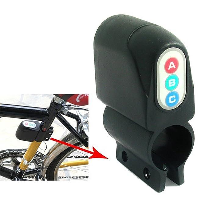 Alarma Antirrobo Antirobo para Bicicleta Moto Herramienta por Sonido 110dB 2714