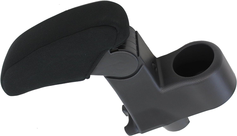 2008-2015 Middle Center Console Armrest Lid HONDA ACCORD Leather Vinyl Black