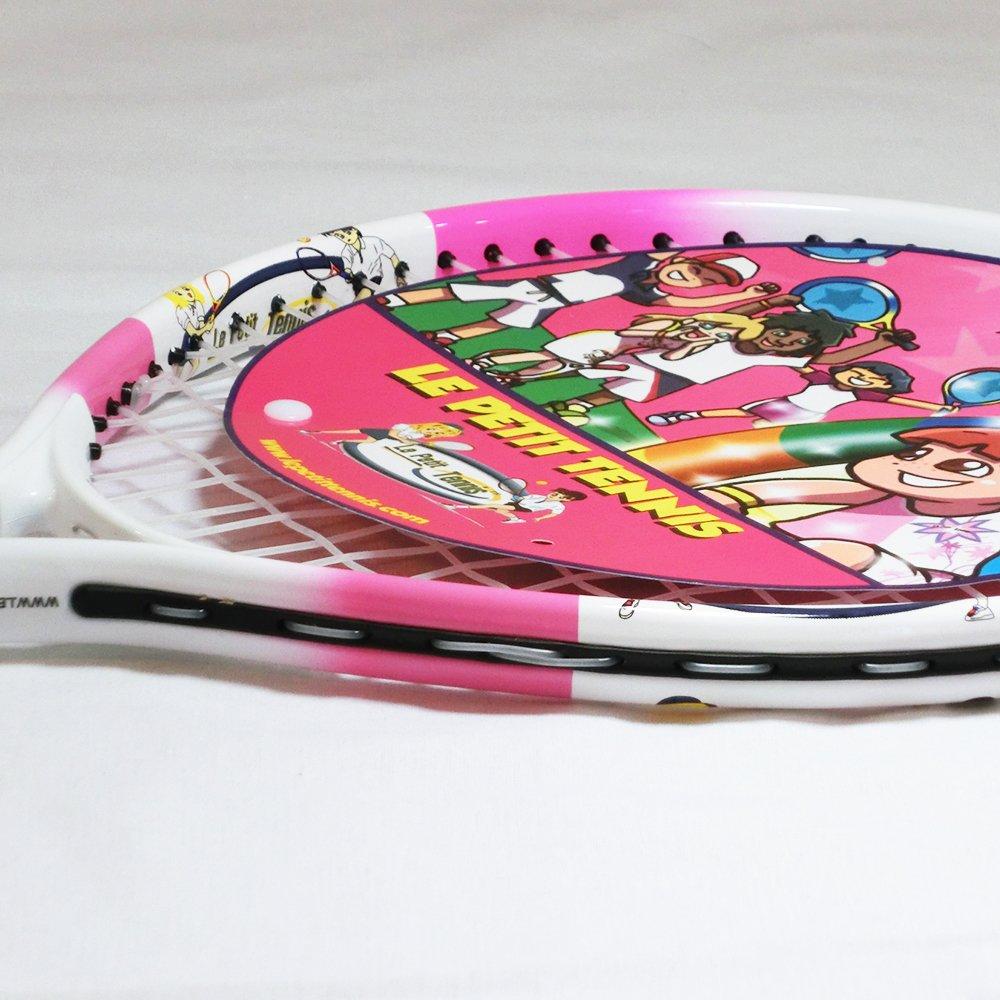 Amazon.com: Le Petit raqueta de tenis 17 inches Color Rosado ...