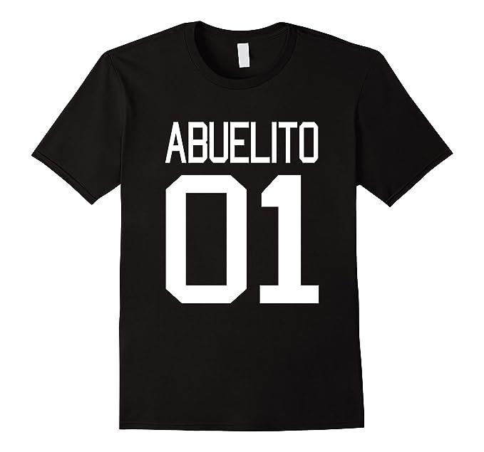 Mens Abuelito T-shirt Dia del Padre El Mejor Abuelo Del Mundo N 1 2XL