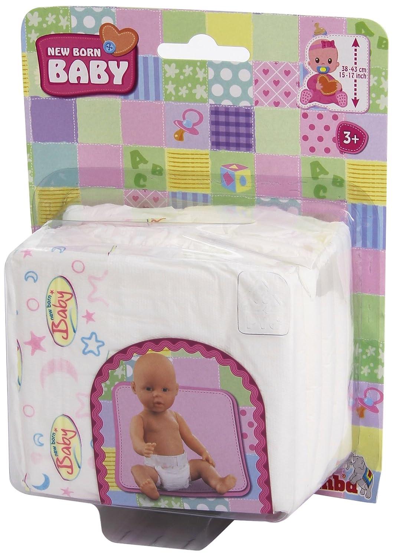Amazon.es: Simba 105561906 - Pañales de muñeca (35-50 cm) (5 unidades): Juguetes y juegos